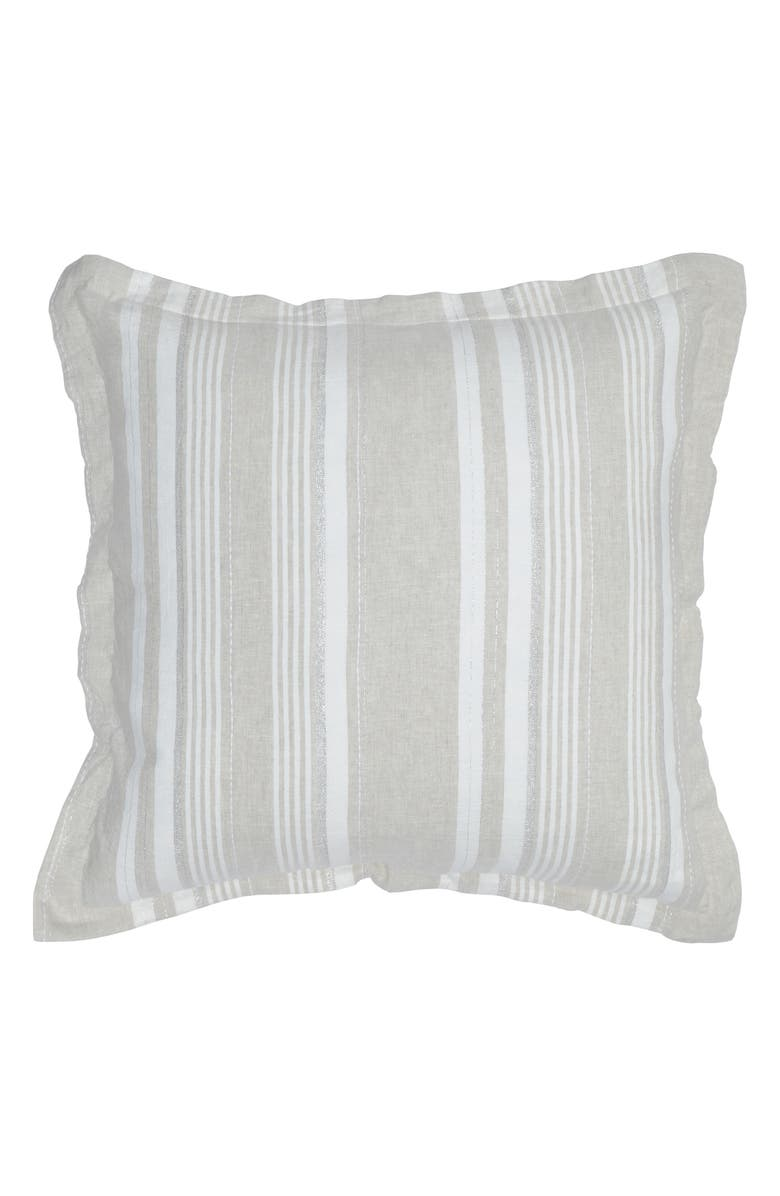VILLA HOME COLLECTION Dale Euro Sham, Main, color, NATURAL/ IVORY