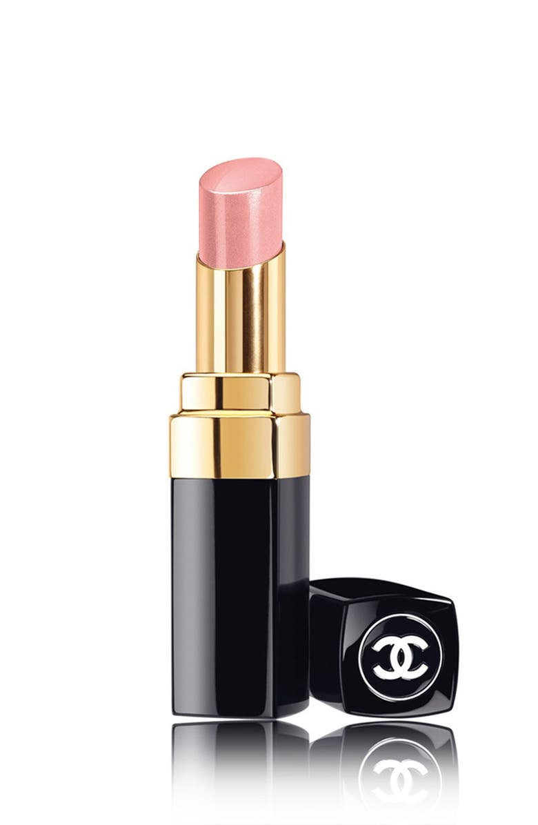 CHANEL ROUGE COCO SHINE <br />Hydrating Sheer Lipshine, Main, color, 001