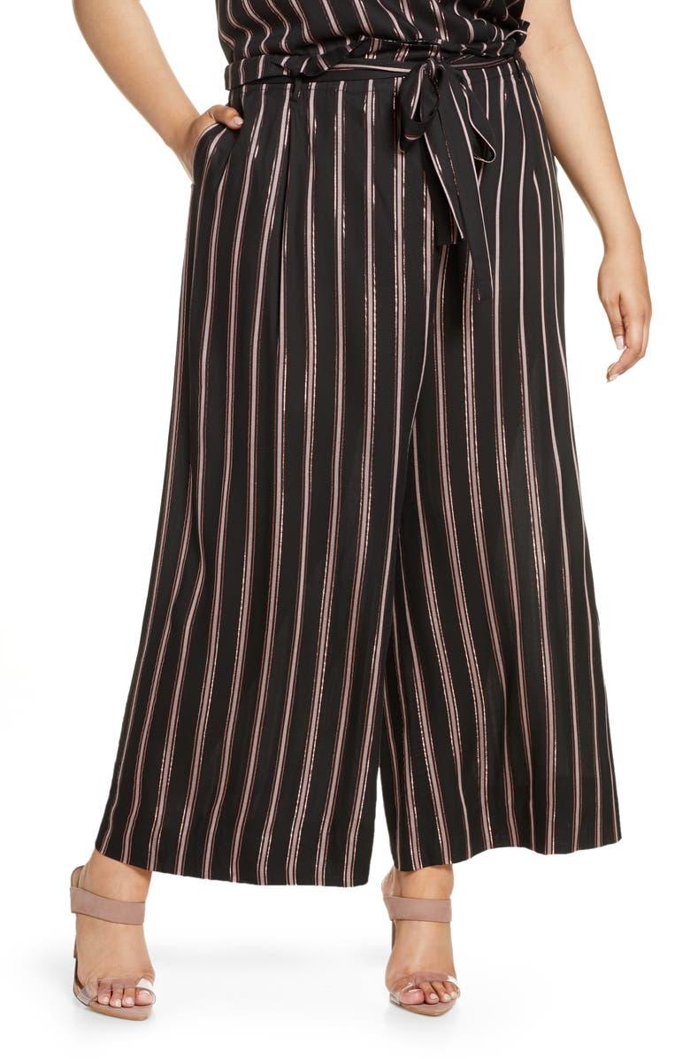 Naida Stripe Wide Leg Pants by Rachel Rachel Roy