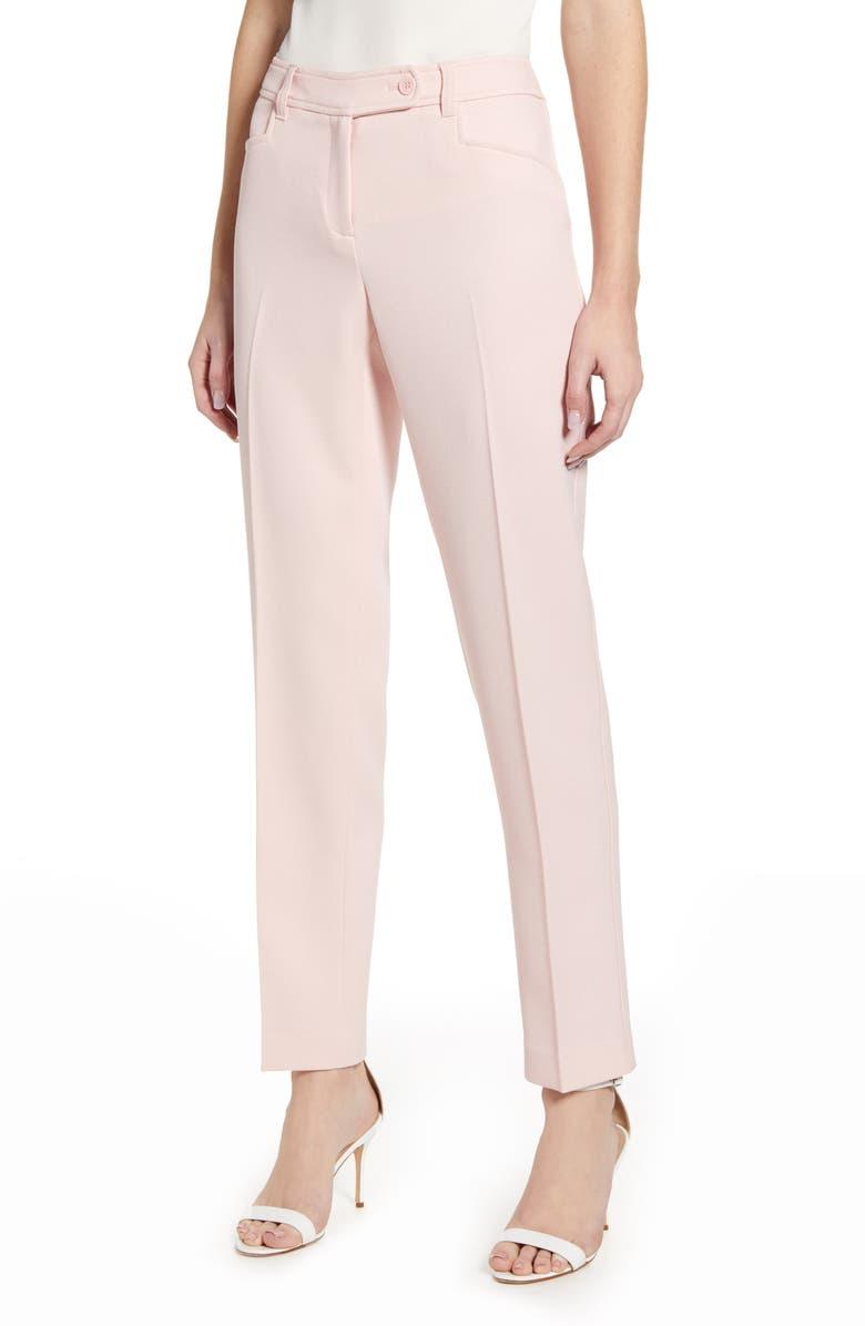 ANNE KLEIN Duke Straight Leg Pants, Main, color, 680