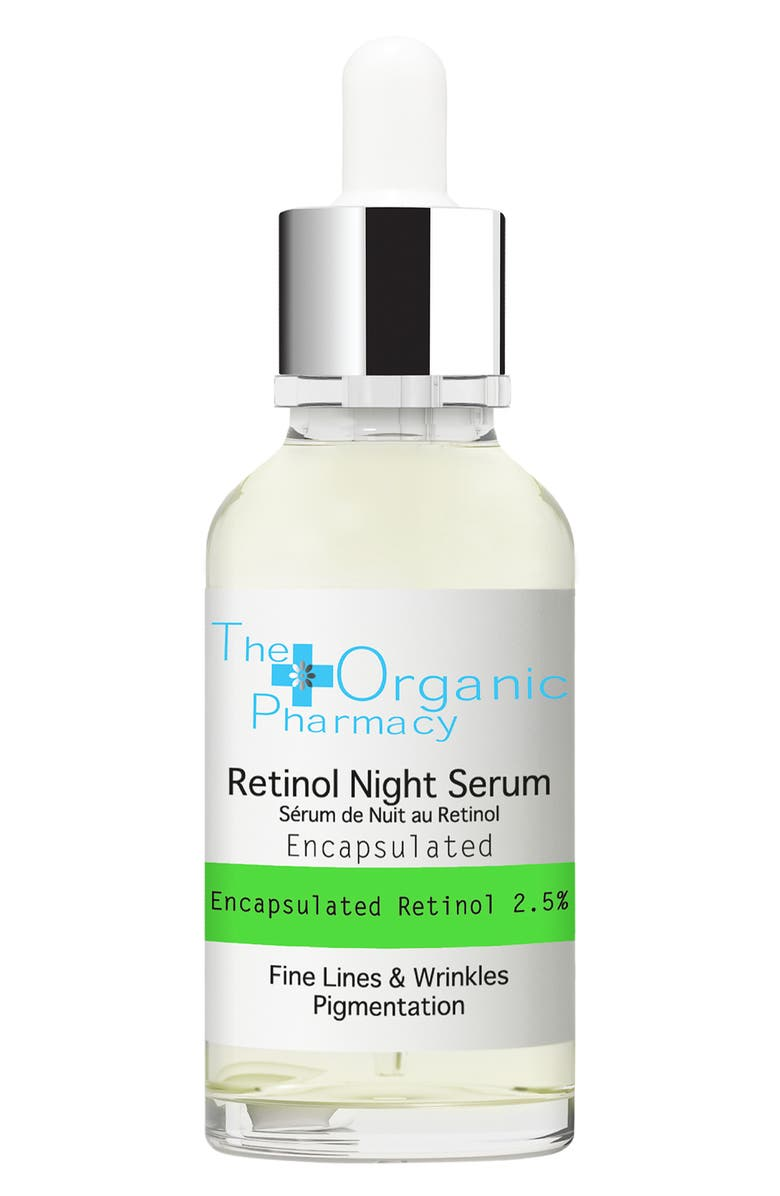 THE ORGANIC PHARMACY Retinol Night Serum, Main, color, NO COLOR