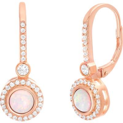 Lesa Michele Halo Drop Earrings