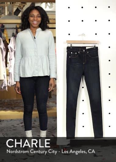 DENIM High Waist Skinny Jeans, sales video thumbnail