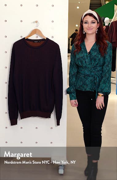 Cashmere & Silk Crewneck Sweater, sales video thumbnail