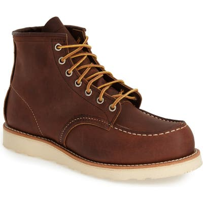 Red Wing 6 Inch Moc Toe Boot, Size - (Nordstrom Exclusive)