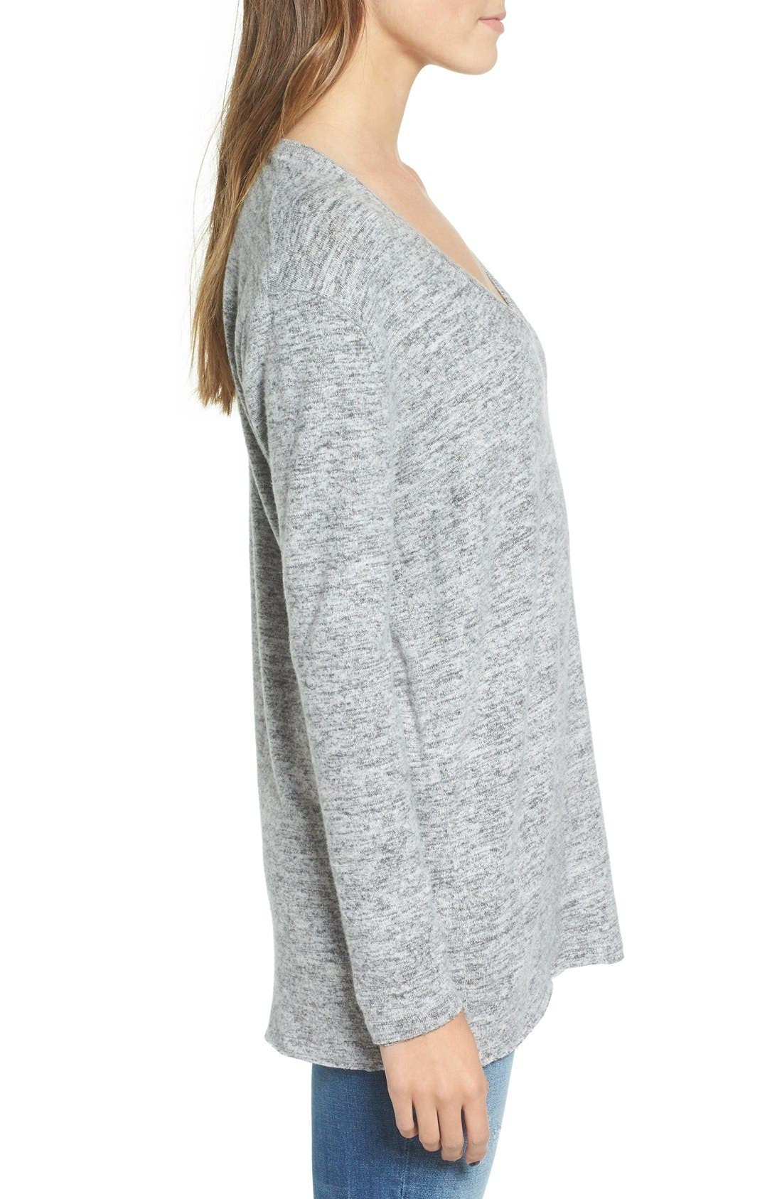 ,                             Cozy V-Neck Sweater,                             Alternate thumbnail 48, color,                             030