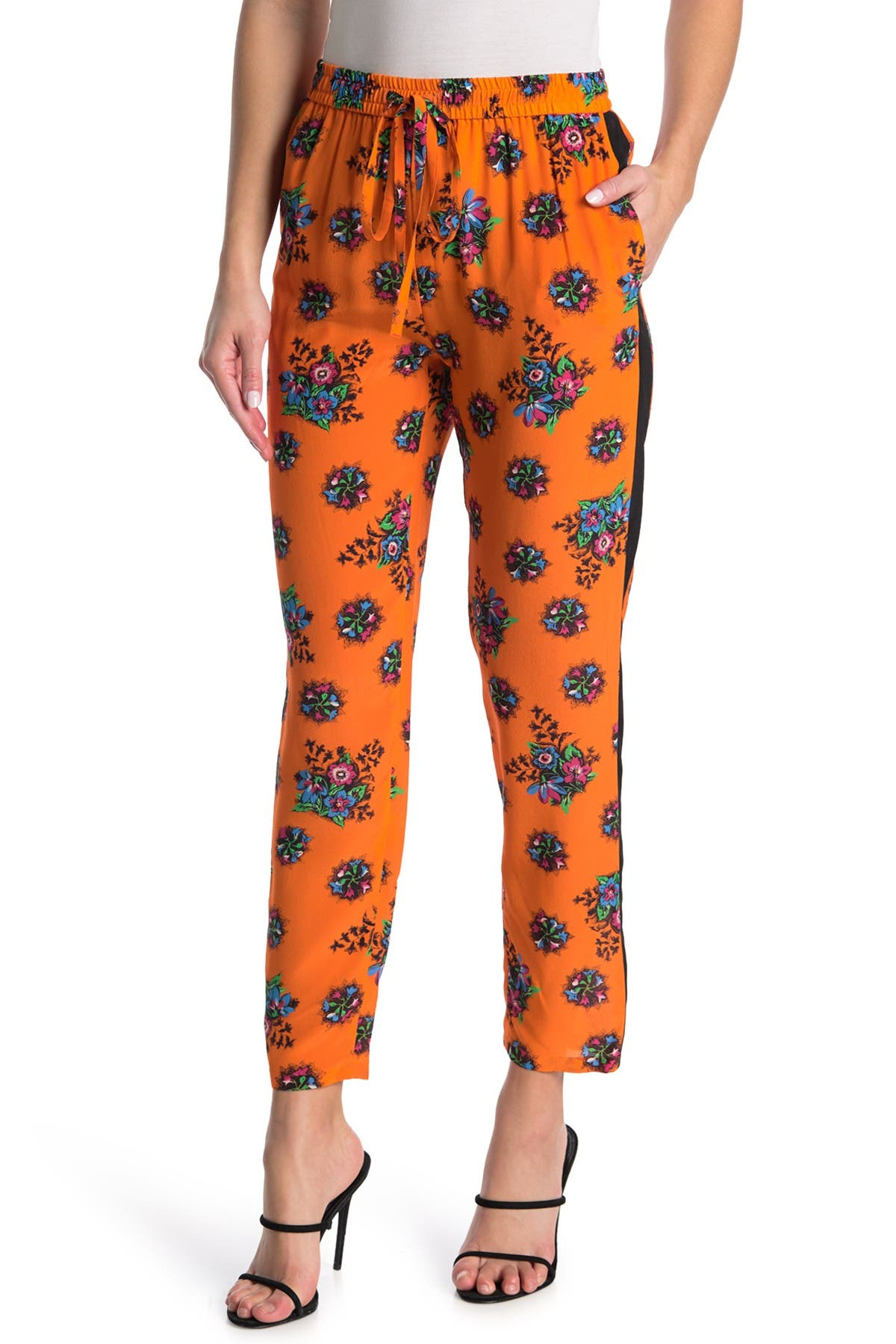 Image of RED Valentino Floral Print Joggers