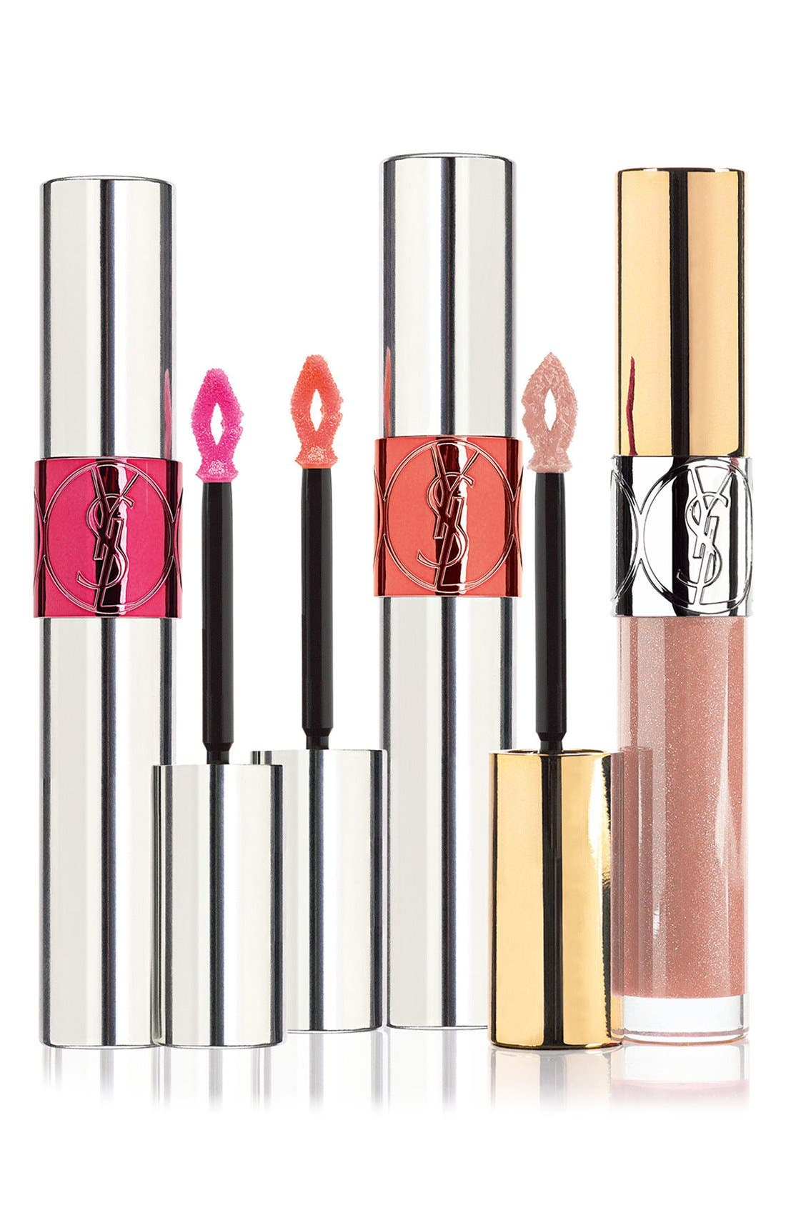 ,                             'Volupté' Lip Gloss Trio,                             Main thumbnail 1, color,                             000