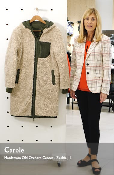 Reversible Wubby Fleece Lined Quilted Jacket, sales video thumbnail