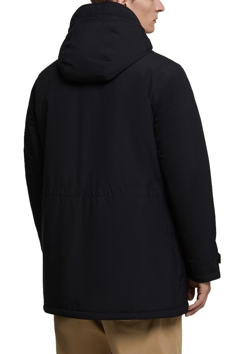 Woolrich Marina Waterproof Gore Tex Paclite Hooded Jacket