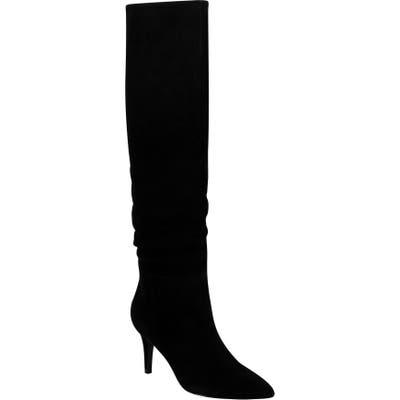 Marc Fischer Ltd X Elizabeth Sulcer Ginnie Knee High Boot- Black