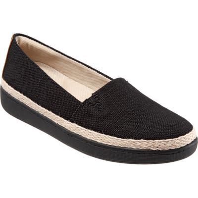 Trotters Accent Slip-On, Black