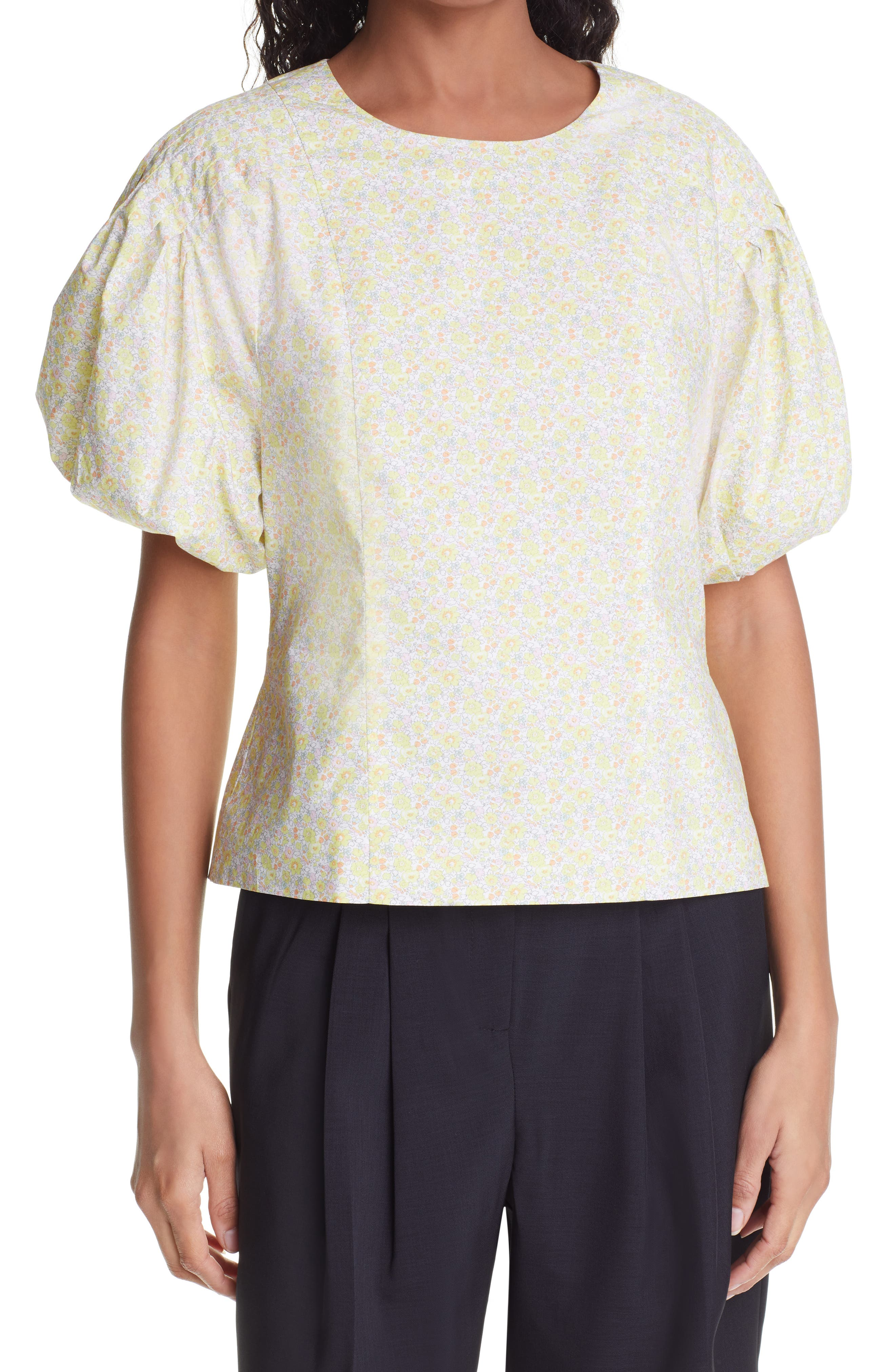 Bell Floral Ditsy Organic Cotton Top