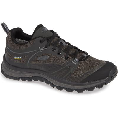 Keen Terradora Waterproof Hiking Shoe- Black