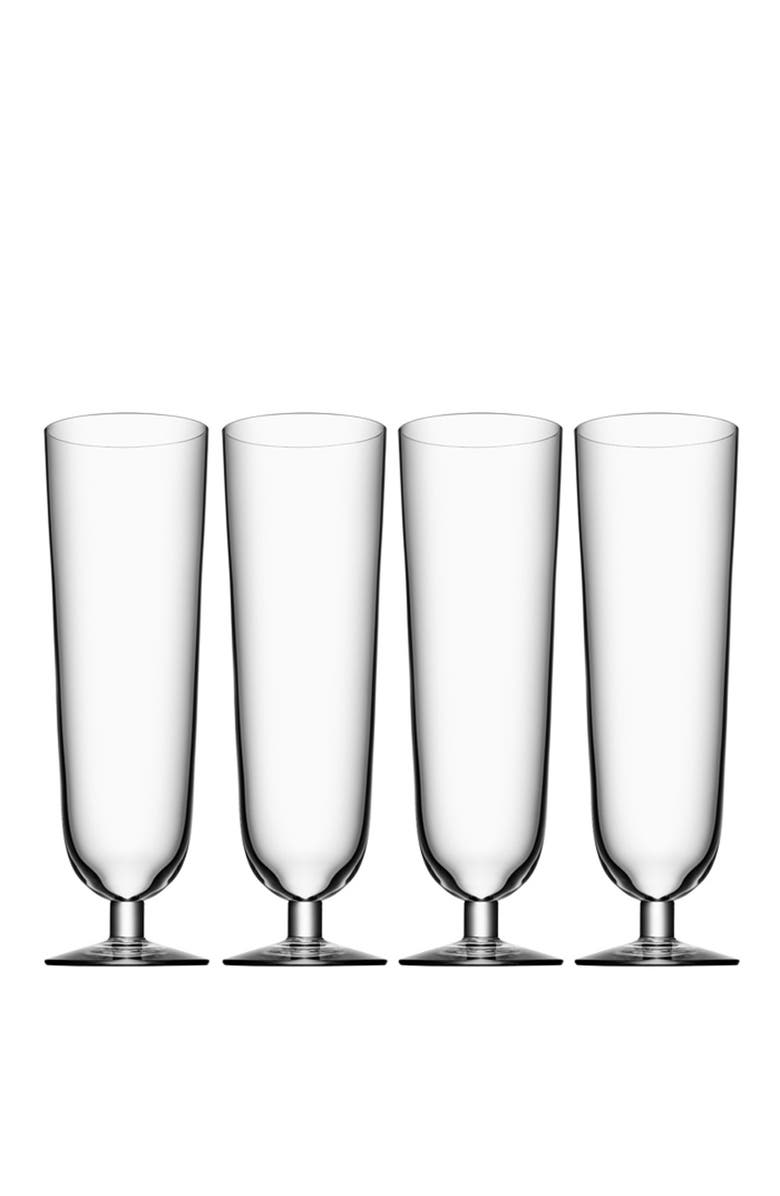 ORREFORS Pils Glasses, Main, color, WHITE