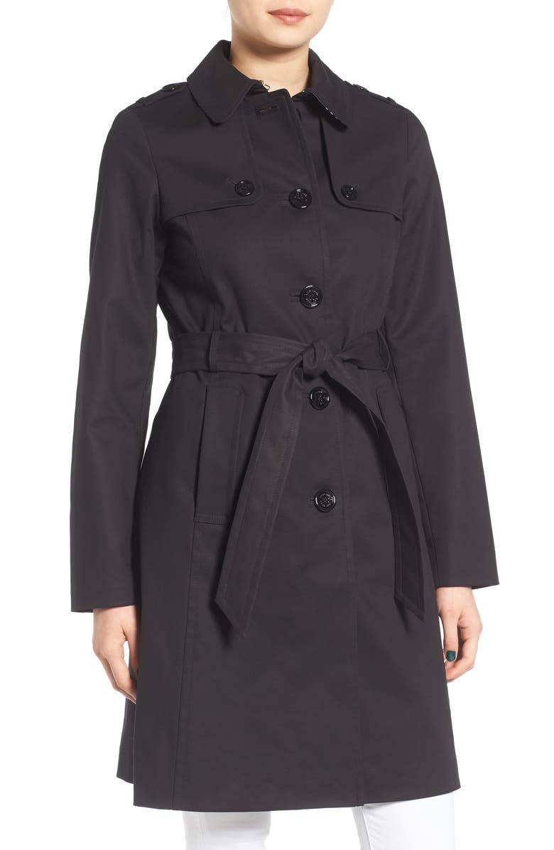 KATE SPADE NEW YORK trench, Main, color, 001
