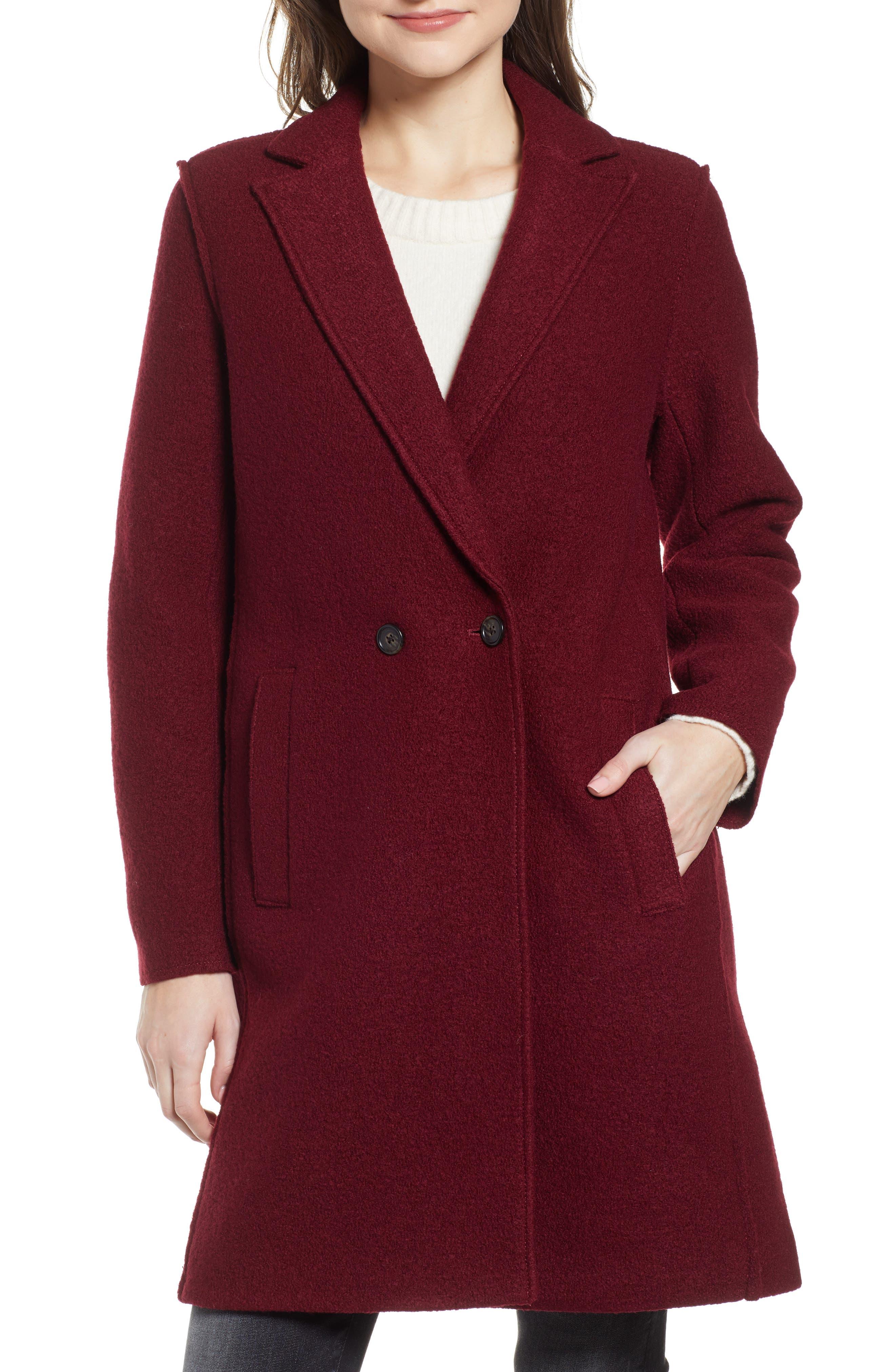 ,                             Daphne Boiled Wool Topcoat,                             Alternate thumbnail 56, color,                             602