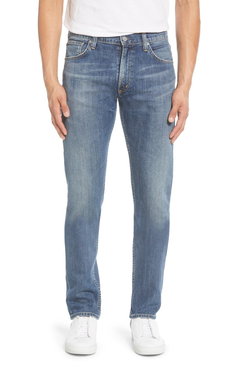 CITIZENS OF HUMANITY Bowery Slim Fit Jeans, Main, color, ROCKY