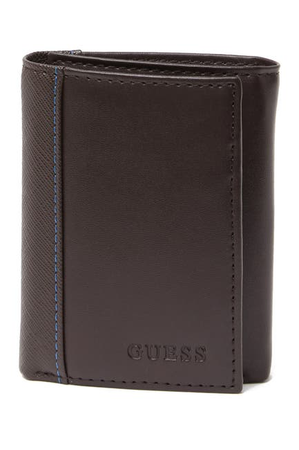 Image of GUESS RFID Bails Trifold Wallet
