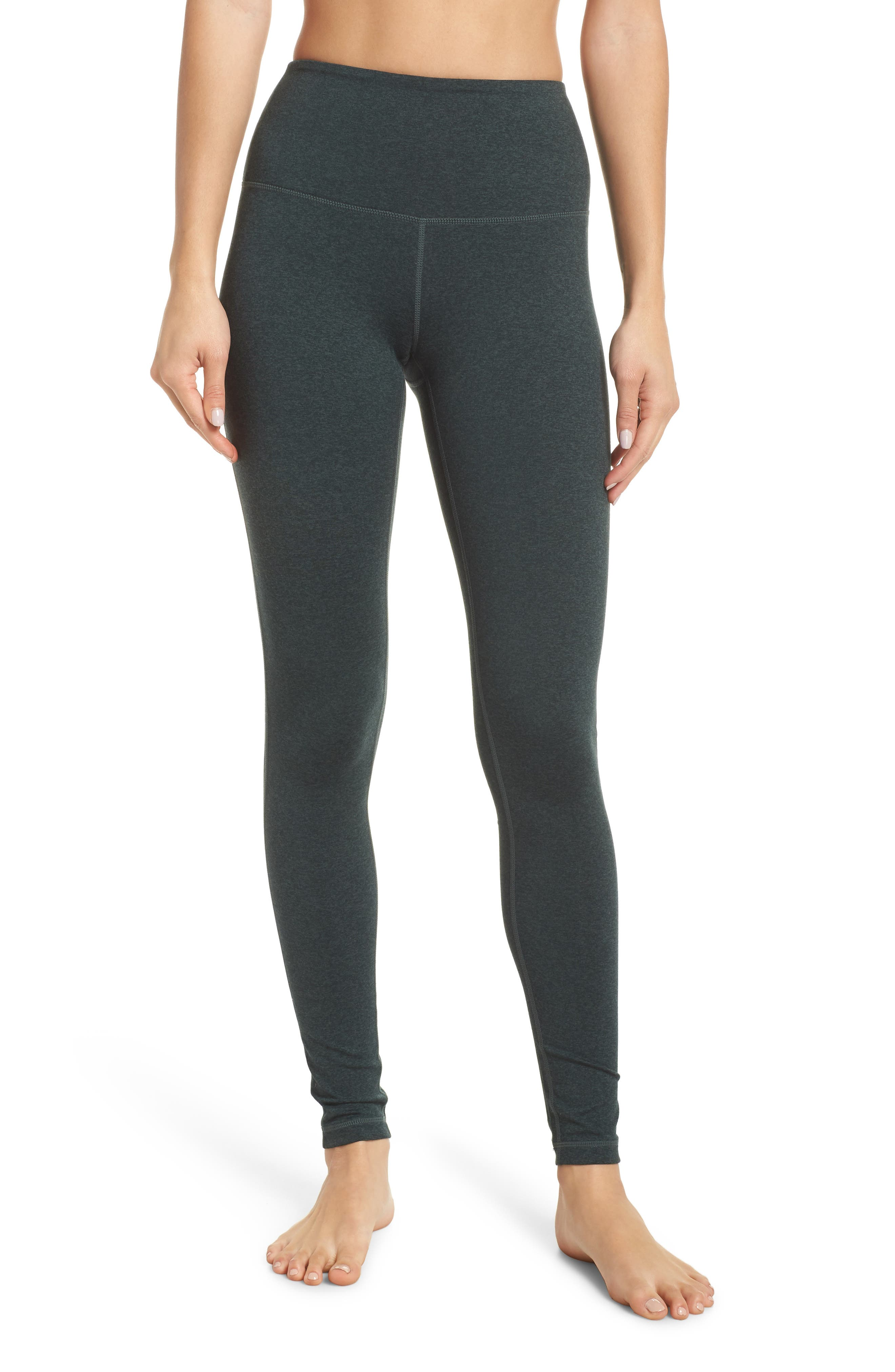 Live In High Waist Leggings, Main, color, GREY URBAN GREEN GABLES CD