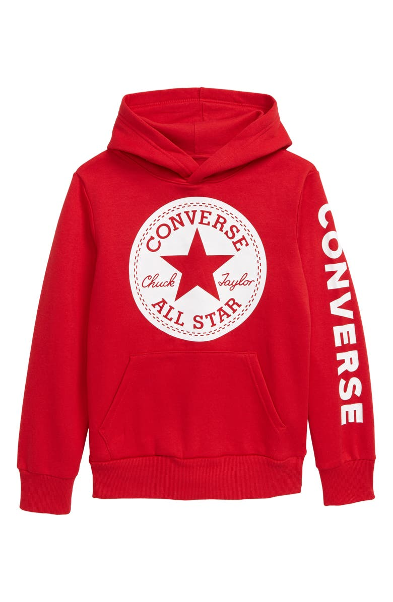 Converse Chuck Taylor® All Star® Logo Fleece Hoodie (Big