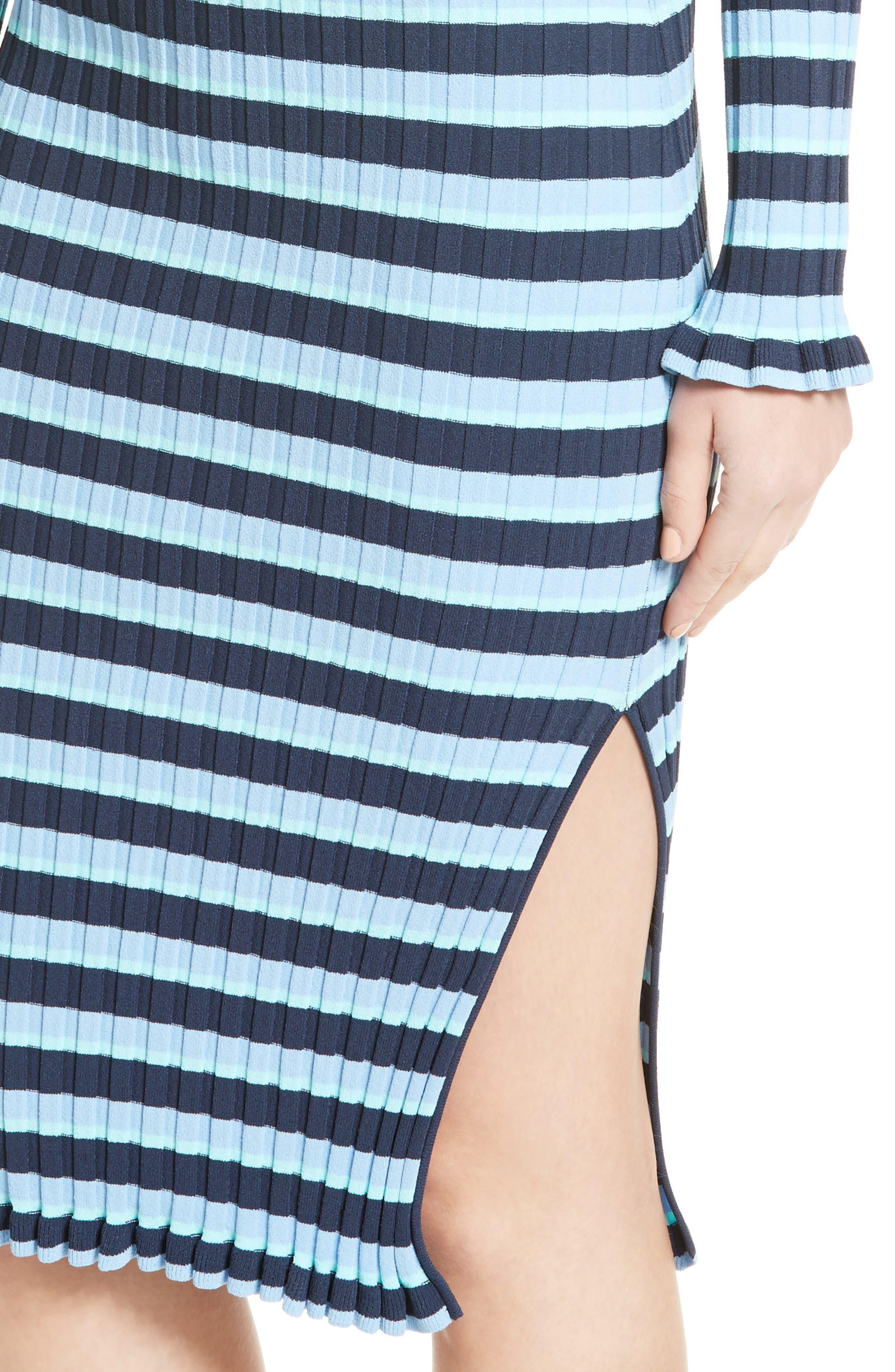 ,                             Socorro Stripe Dress,                             Alternate thumbnail 4, color,                             400