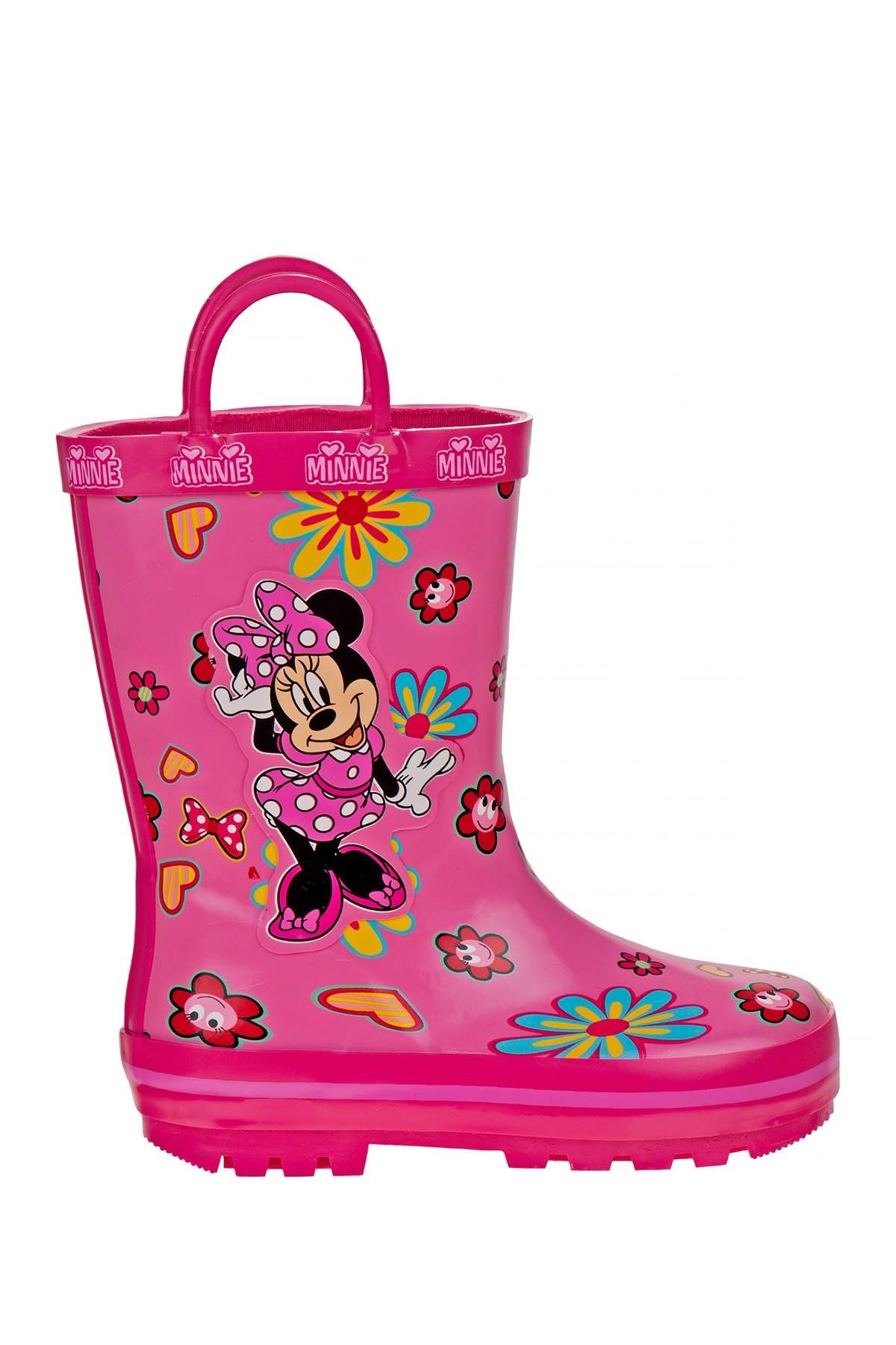 Josmo Minnie Mouse Rain Boots