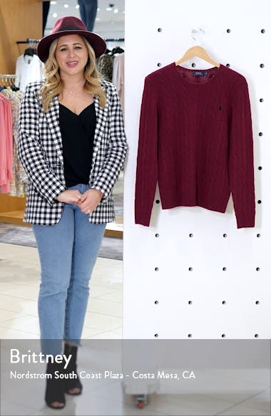 Juliana Cable Sweater, sales video thumbnail