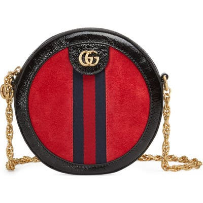 Gucci Miniround Shoulder Bag - Red