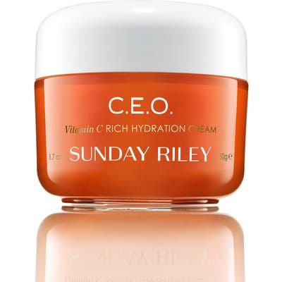 Space. nk. apothecary Sunday Riley C.e.o. Vitamin C Rich Hydration Cream