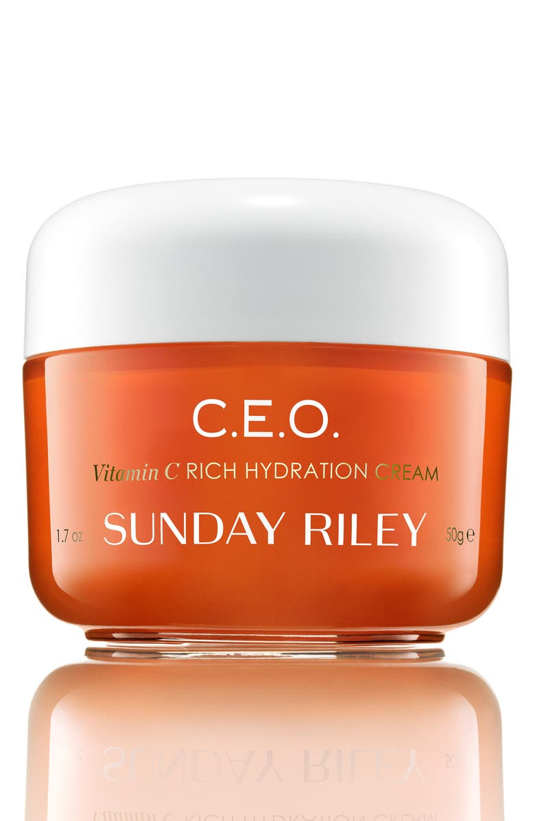 SUNDAY RILEY SPACE.NK.apothecary Sunday Riley C.E.O. Vitamin C Rich Hydration Cream, Main, color, NO COLOR