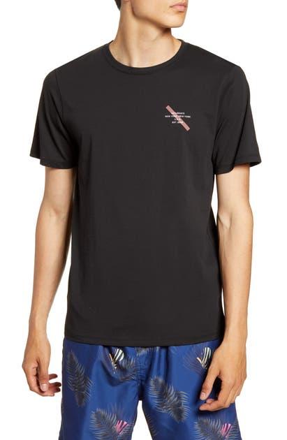 Saturdays Surf Nyc T-shirts GOTHAM SLASH LOGO T-SHIRT