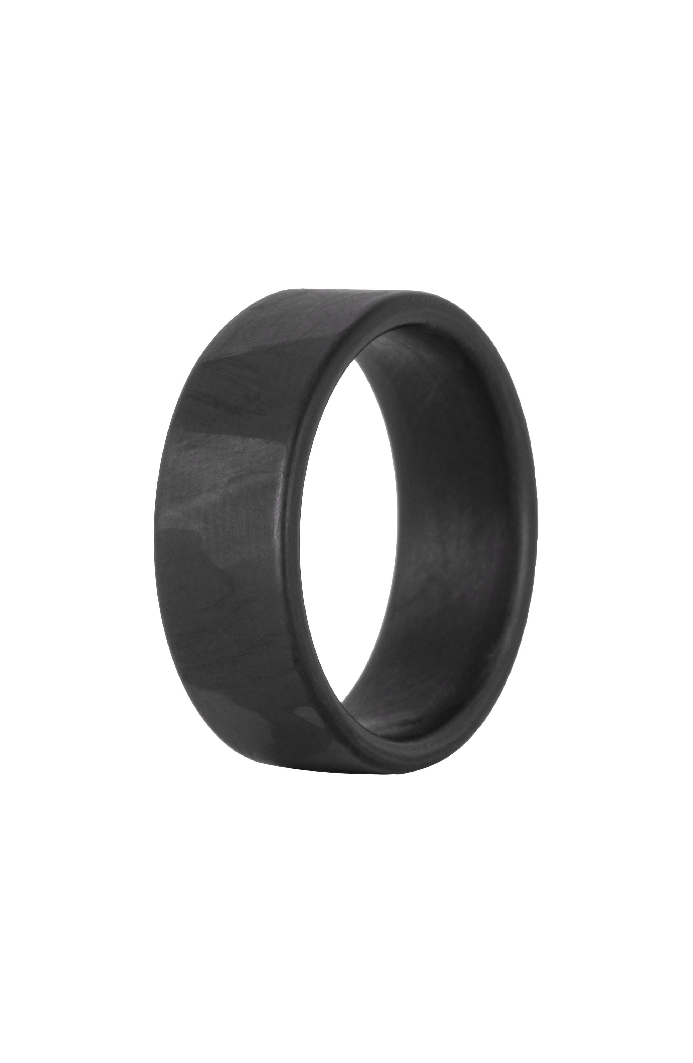 Women's Element Rings Co. Ranger Carbon Fiber Band Ring