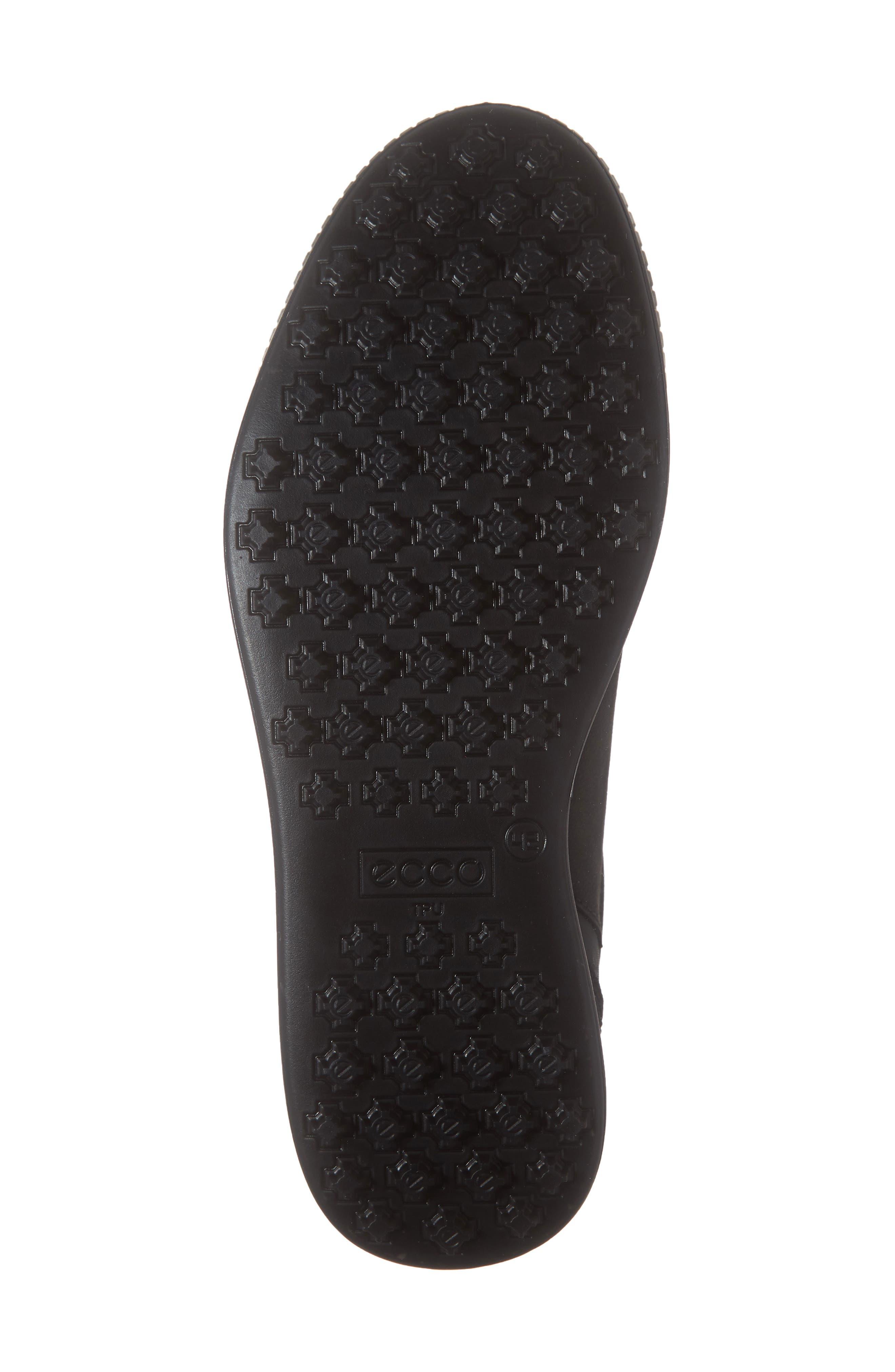 ,                             Street Retro LX Golf Shoe,                             Alternate thumbnail 6, color,                             BLACK LEATHER