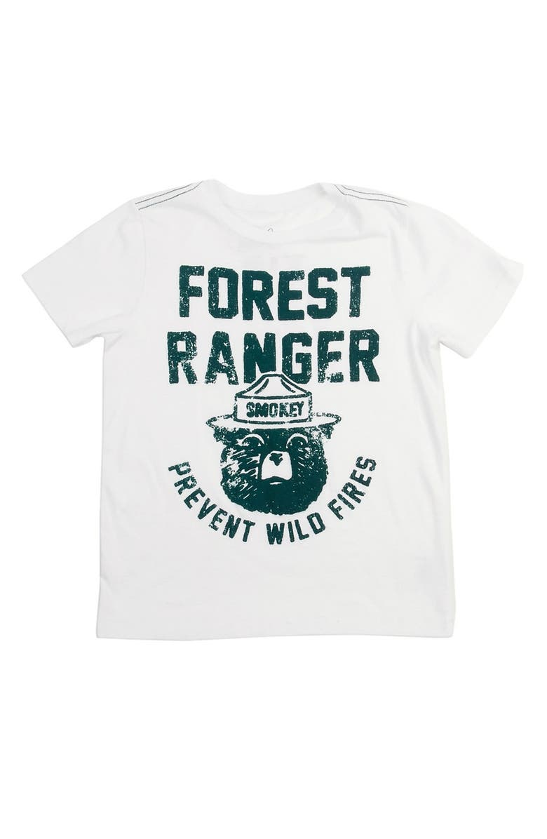 PEEK AREN'T YOU CURIOUS Peek 'Forest Ranger' Graphic T-Shirt, Main, color, 100