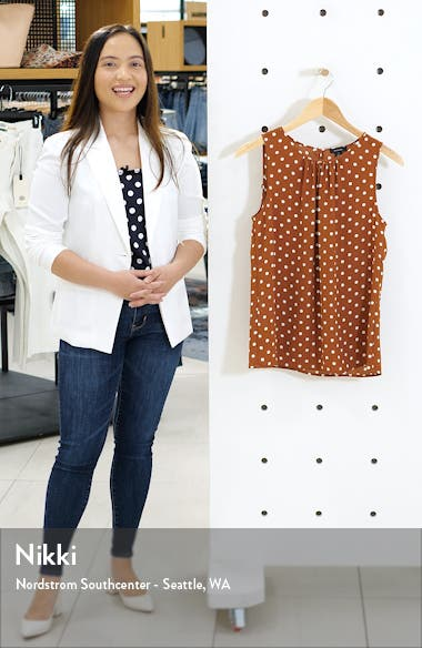 Print Sleeveless Top, sales video thumbnail