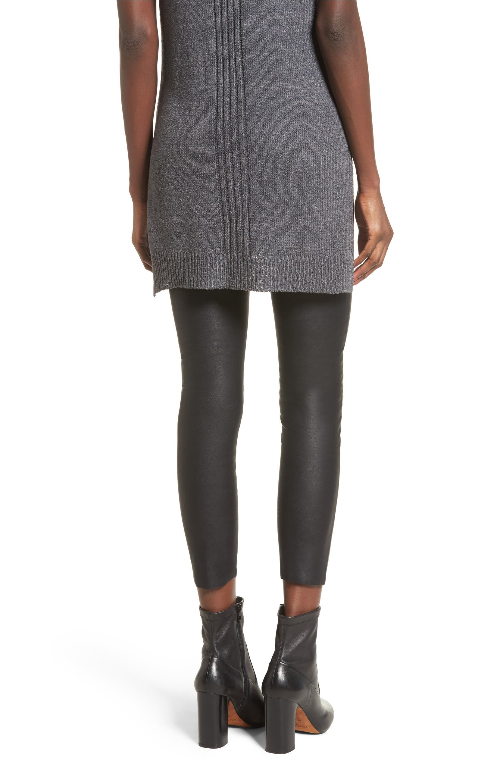 a81795c714a4c David Lerner Gemma High Waist Faux Leather Leggings | Nordstrom