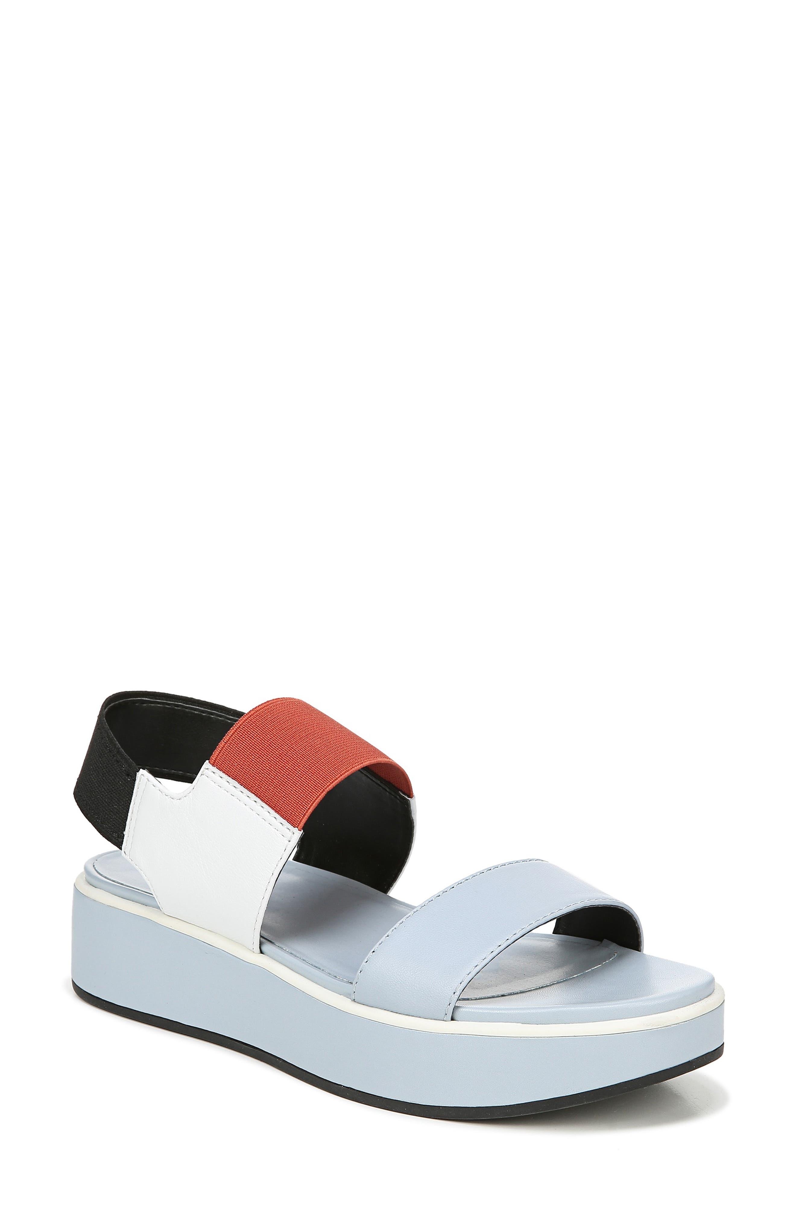 Naturalizer Carys Platform Sandal, White
