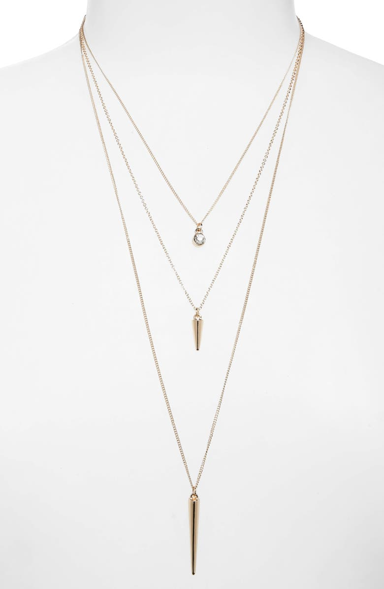 BP. Layered Necklace, Main, color, 710