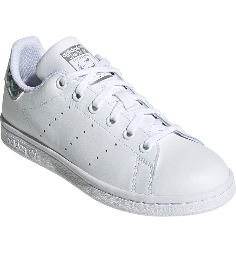 ADIDAS Stan Smith Foundation Sneaker, Main, color, WHITE/ WHITE/ CORE BLACK