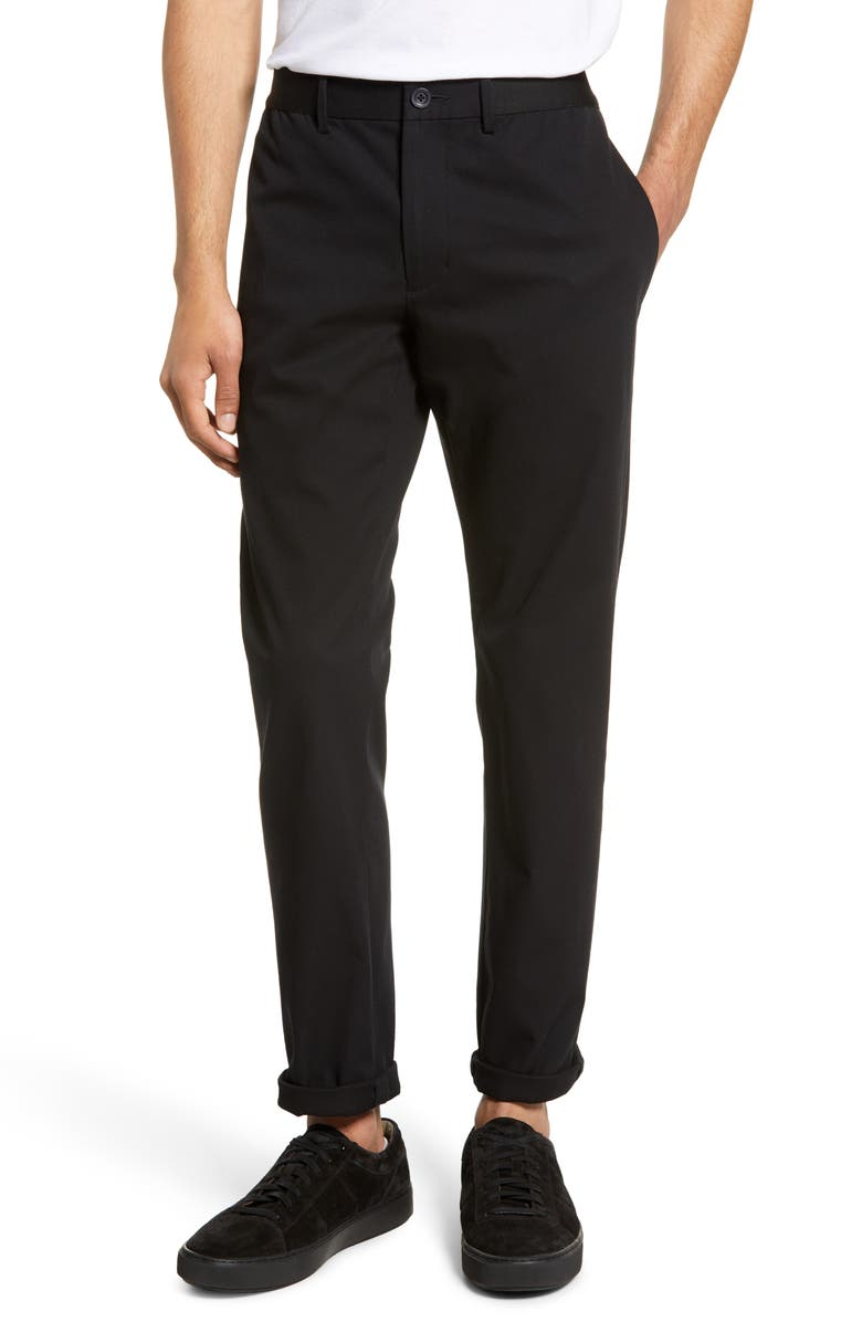 VINCE Slater Slim Fit Chinos, Main, color, 001