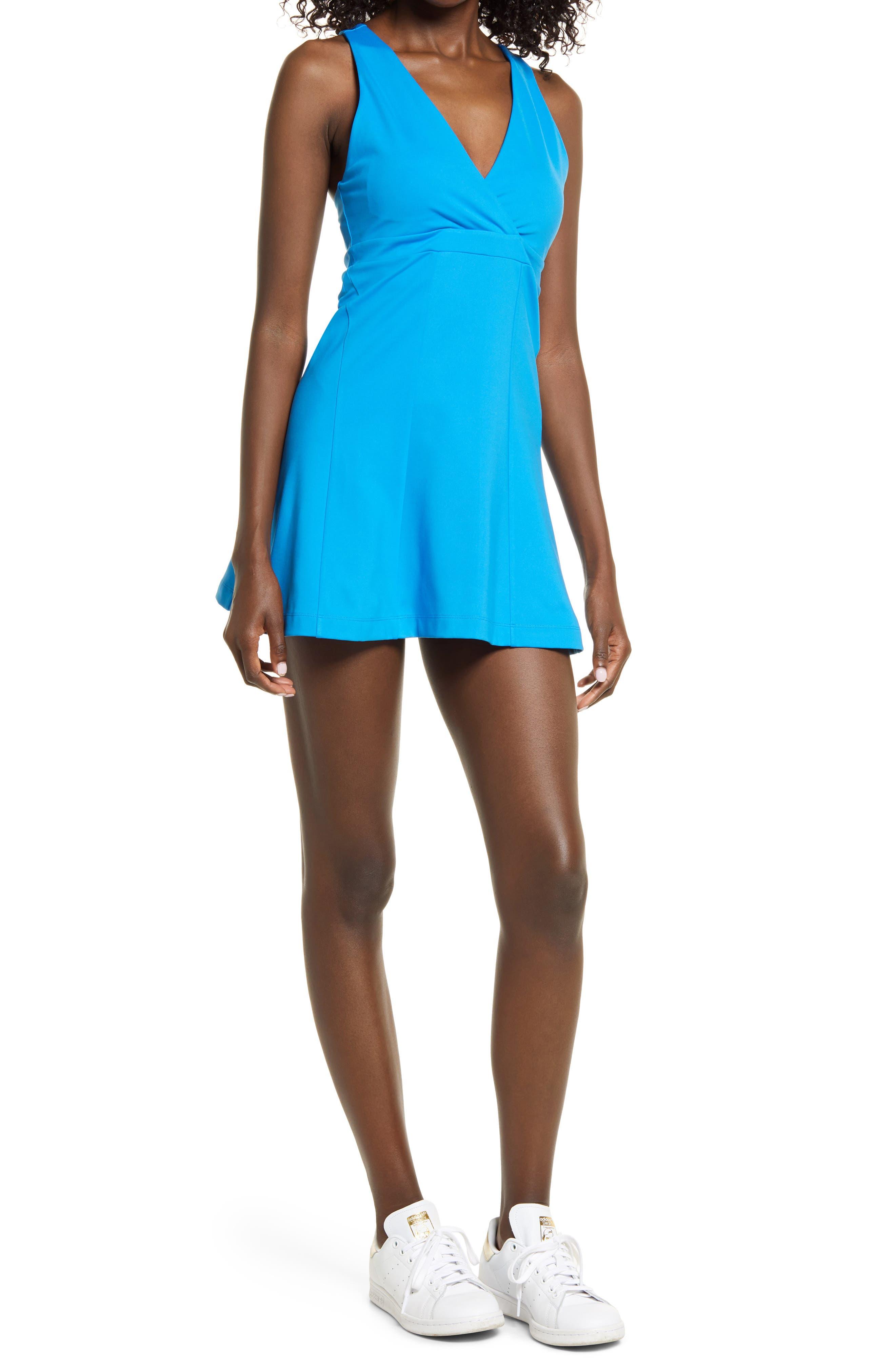 X Carbon38 Cross Back Tennis Dress