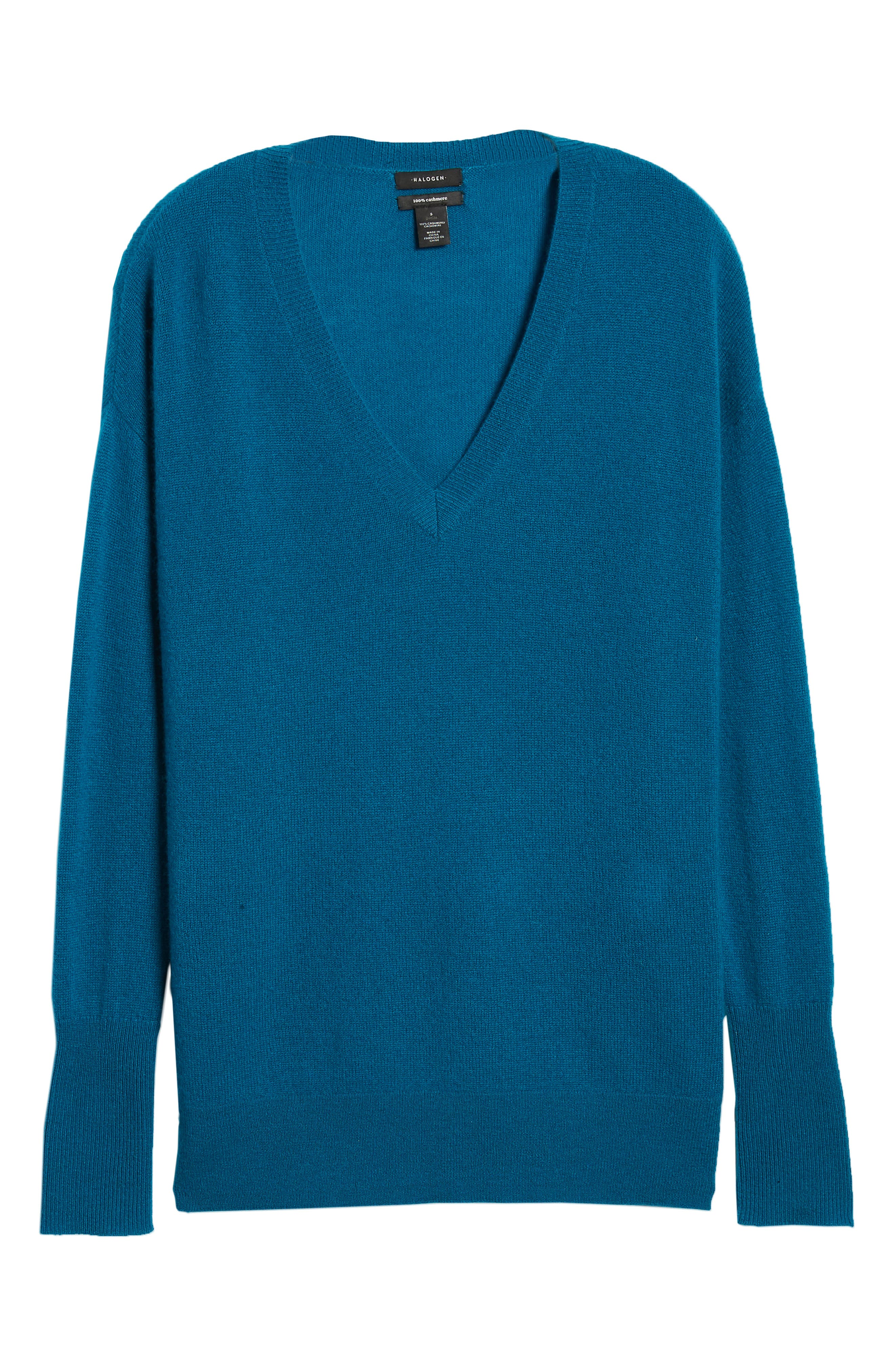 ,                             Relaxed V-Neck Cashmere Sweater,                             Alternate thumbnail 55, color,                             449