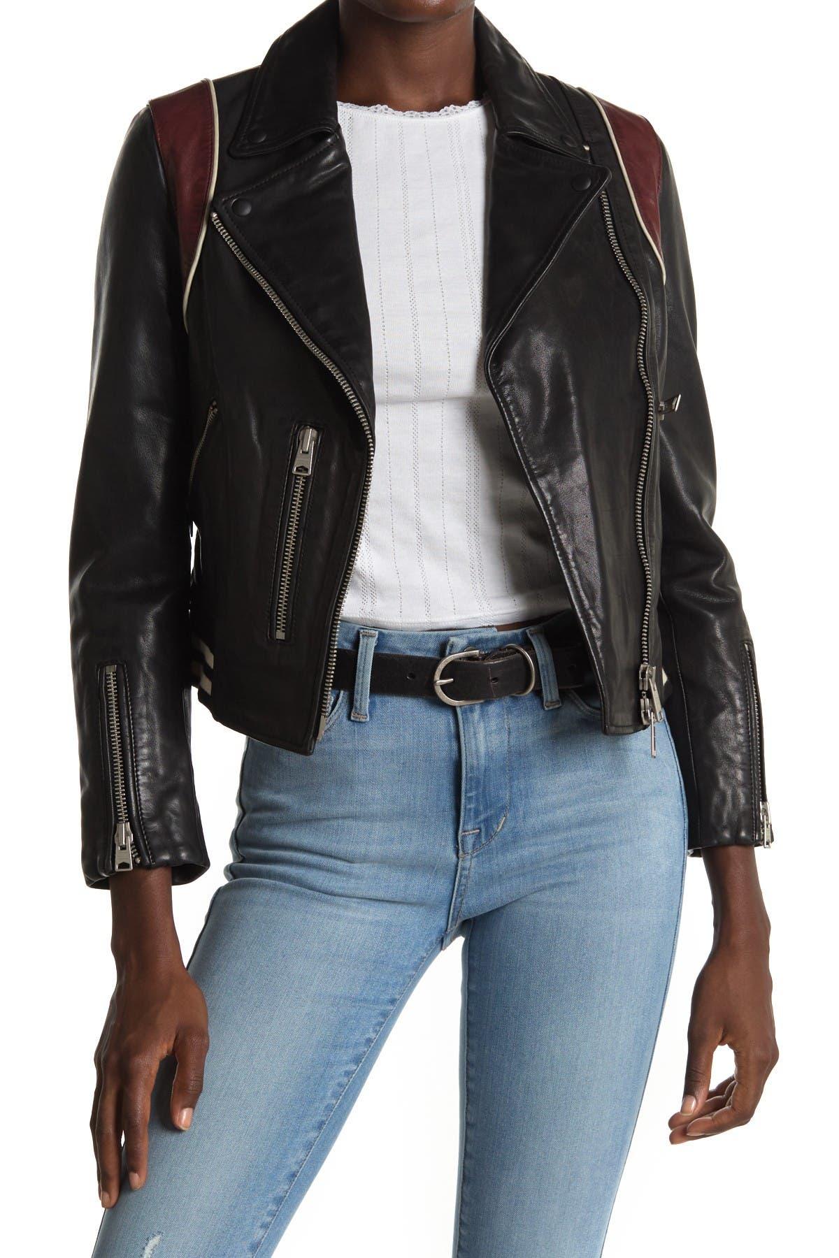 Image of ALLSAINTS Balfern Leather Jacket