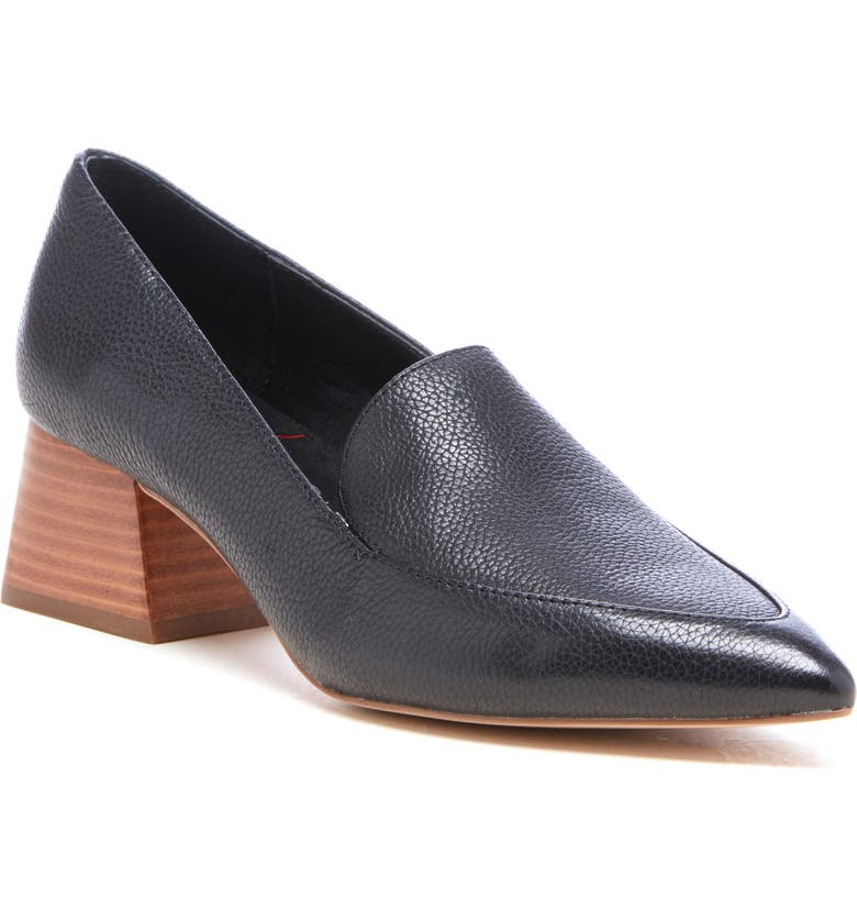 SOLE SOCIETY Marty Pump, Main, color, BLACK LEATHER
