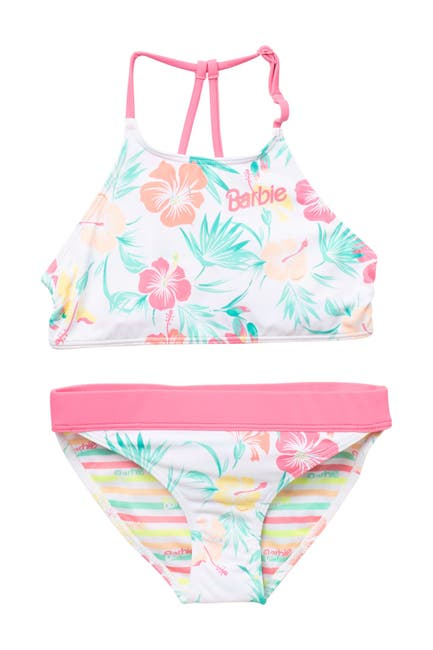 Image of Roxy Barbie Crop Top Bikini Set