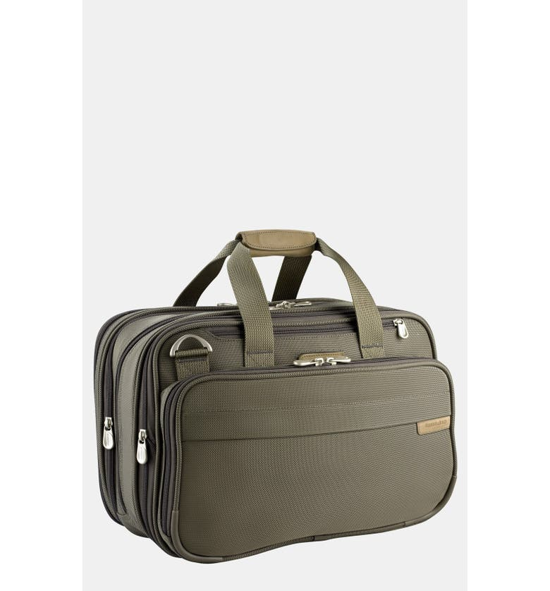 BRIGGS & RILEY Expandable Cabin Bag, Main, color, OLIVE