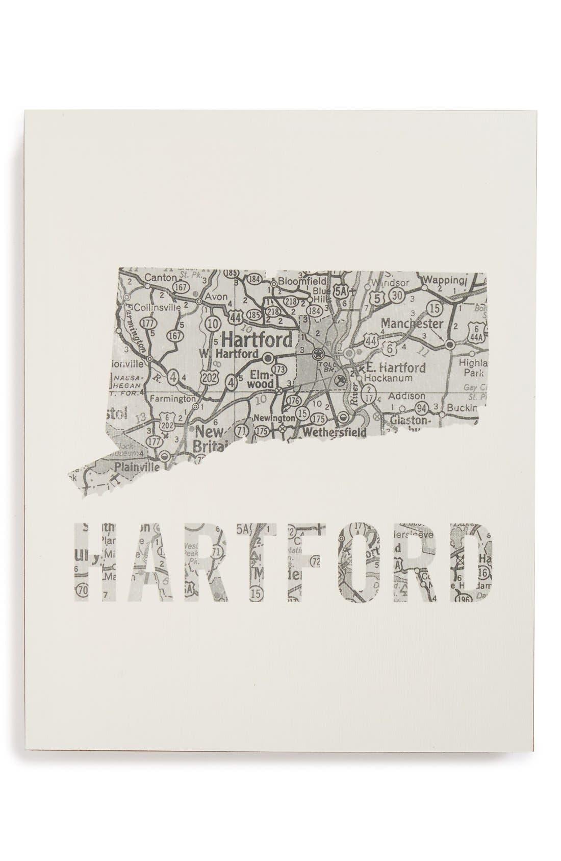 ,                             City Map Wall Art,                             Main thumbnail 16, color,                             035