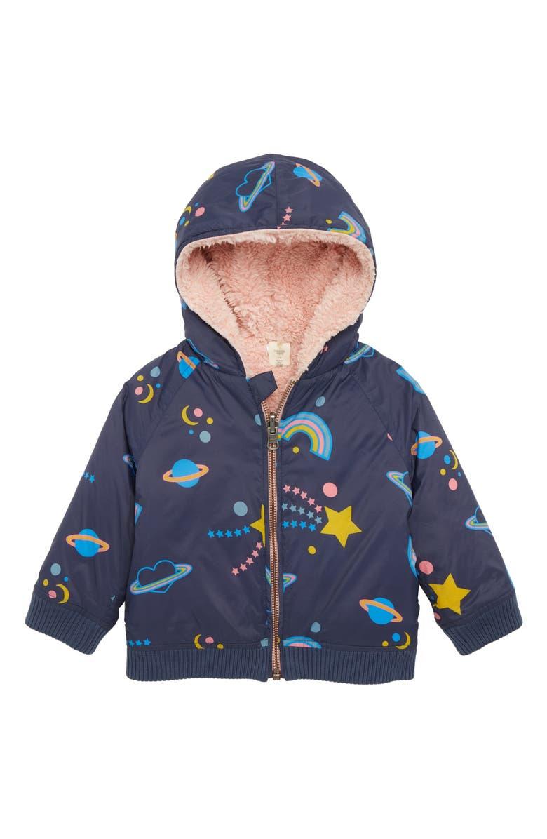 TUCKER + TATE Reversible Hooded Jacket, Main, color, 410