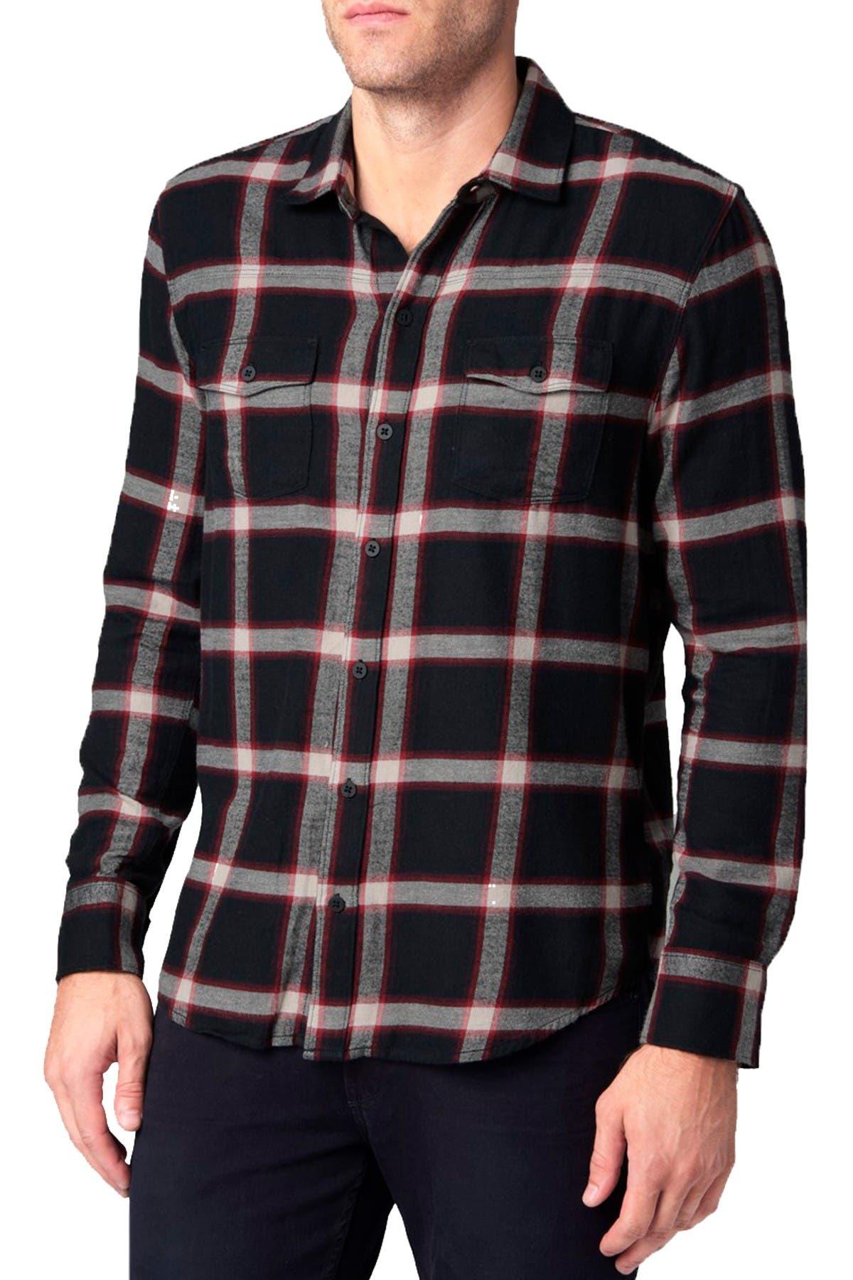 Image of PAIGE Hunter Plaid Shirt